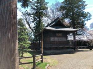 蚕養国神社、神楽殿