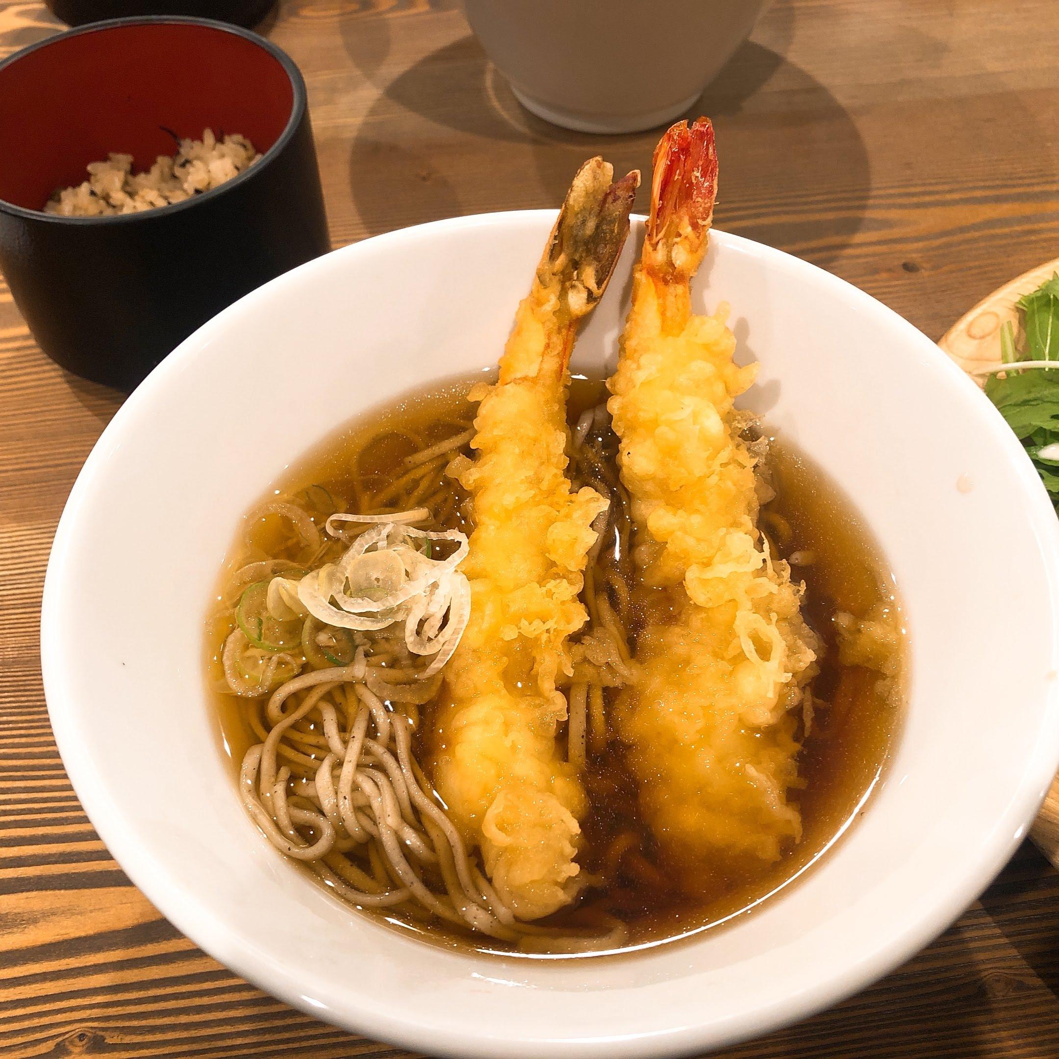 DECCORA(デッコラ) - 日替わり、天ぷら蕎麦
