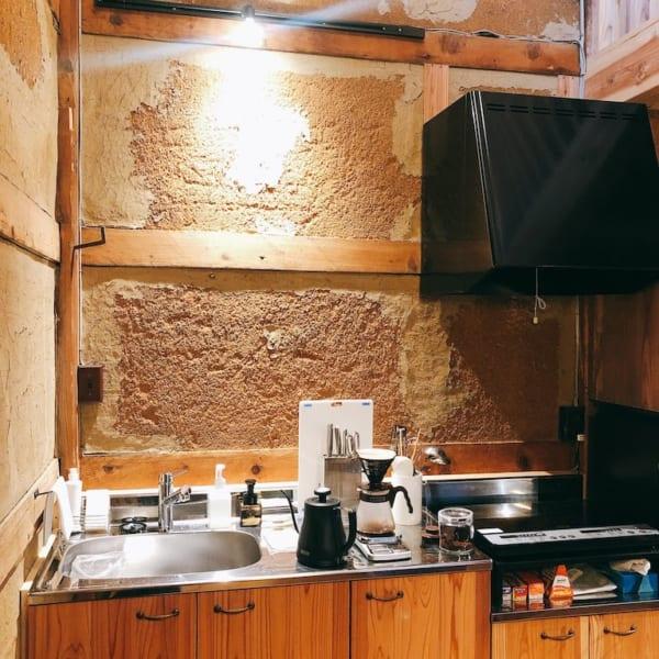 楢山集落、十五夜のキッチン