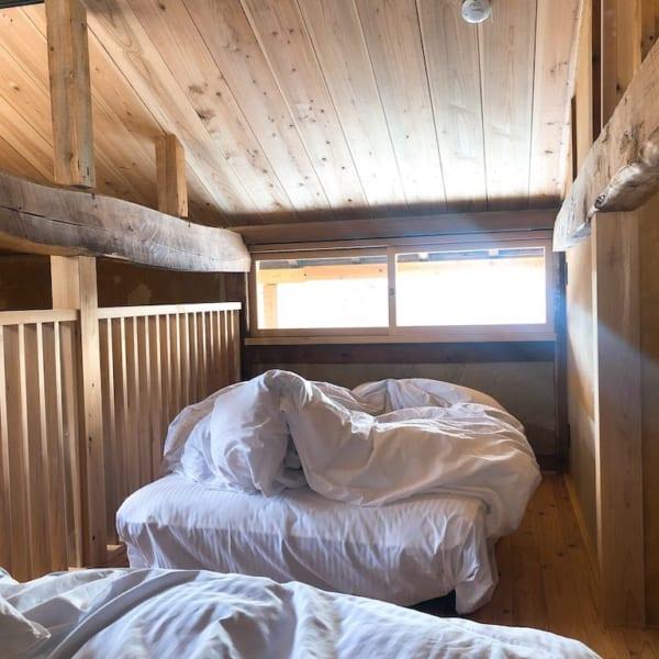 楢山集落、十五夜、2Fベッドルーム