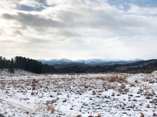 楢山集落からの景色