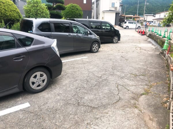 あたごや 駐車場