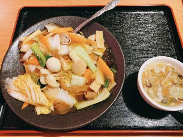 台湾料理 広源 北海道五目焼きそばセット