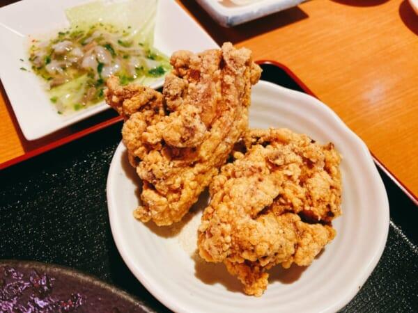 台湾料理 広源 北海道五目焼きそばセットの揚げ物