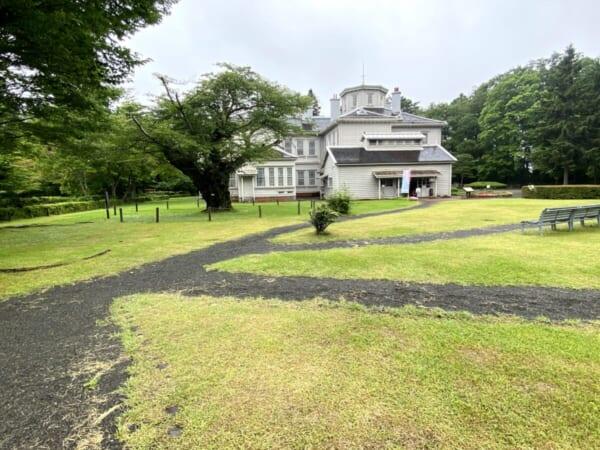 天鏡閣 北庭園