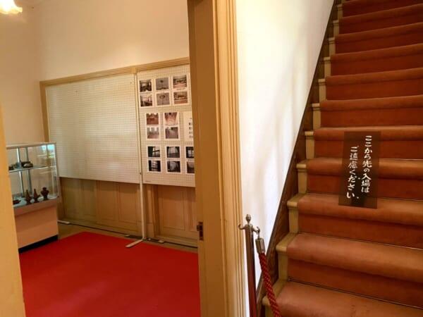 天鏡閣 別館、階段
