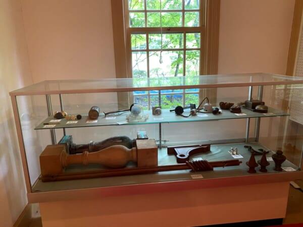 天鏡閣 別館、当時の品々