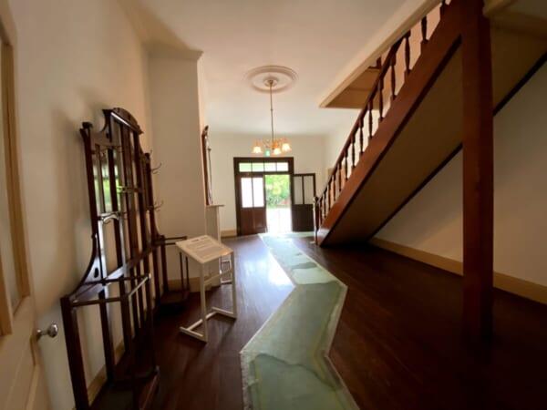 天鏡閣 外広間、玄関