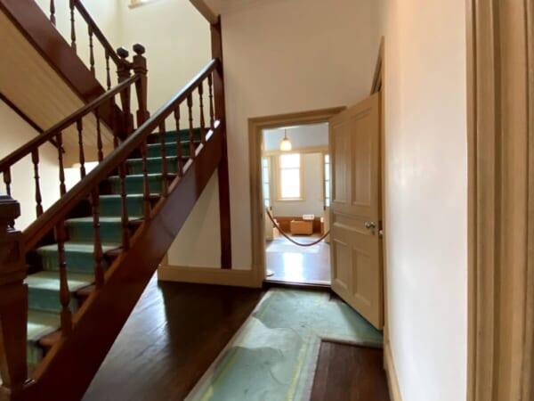 階段室、浴室