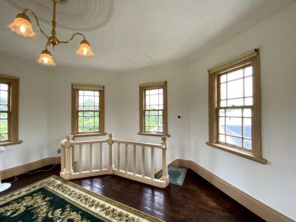 天鏡閣 塔屋(展望室)階段口