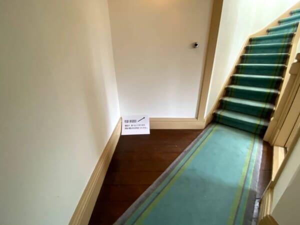 天鏡閣 塔屋(展望室)階段