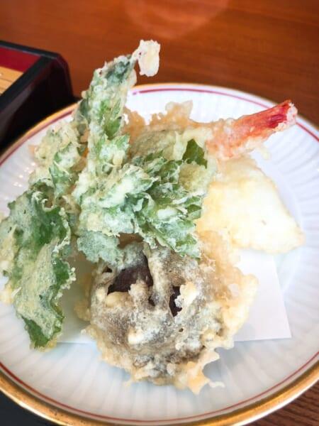 ロータスイン レストラン 會wase 天ザルの天ぷら
