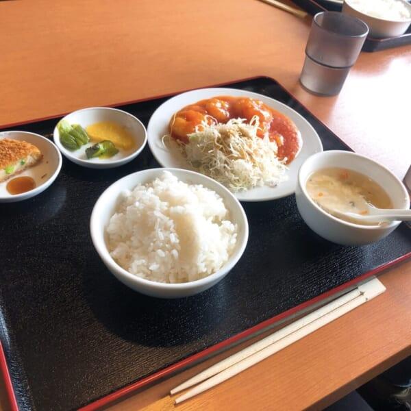 台湾料理 広源 日替わりランチA エビチリ