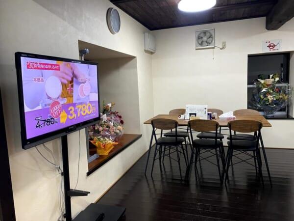 ラーメン福○(ふくまる) テーブル席