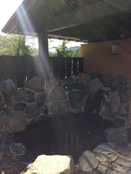 昭和温泉 しらかば荘 露天風呂2