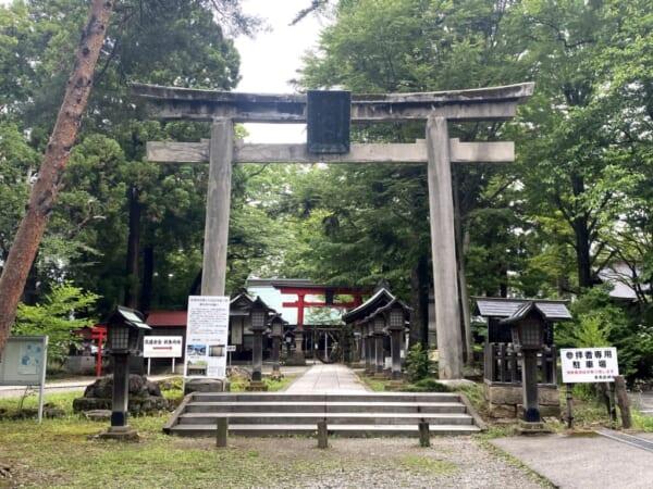 蚕養国神社(こがいくに神社)、大鳥居