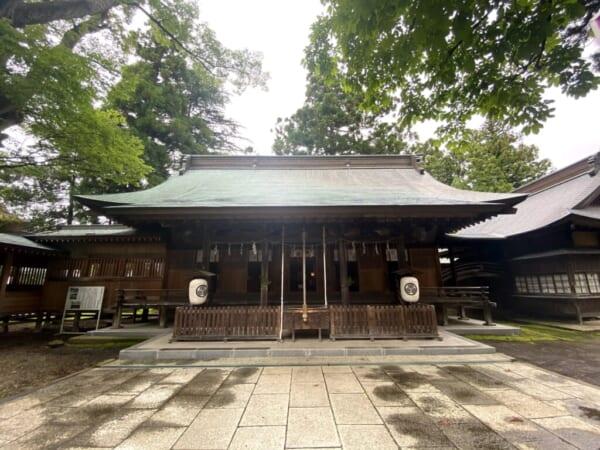 蚕養国神社(こがいくに神社)  本殿