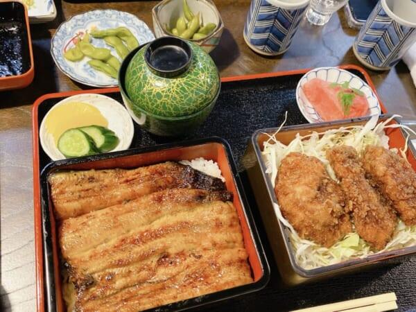 鰻のえびや 花とソースカツ丼
