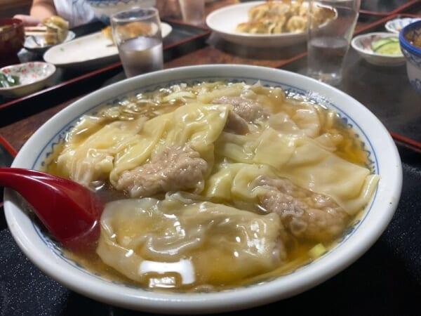 中華飯店 利喜(としき) ワンタンメン