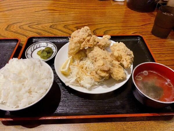 菜華楼(さいかろう) 鳥の唐揚げ定食