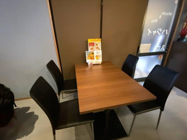 ハジャイ テーブル席