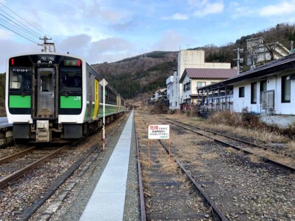 バスツアー 冬の奥会津を巡る旅 川口駅JR乗車
