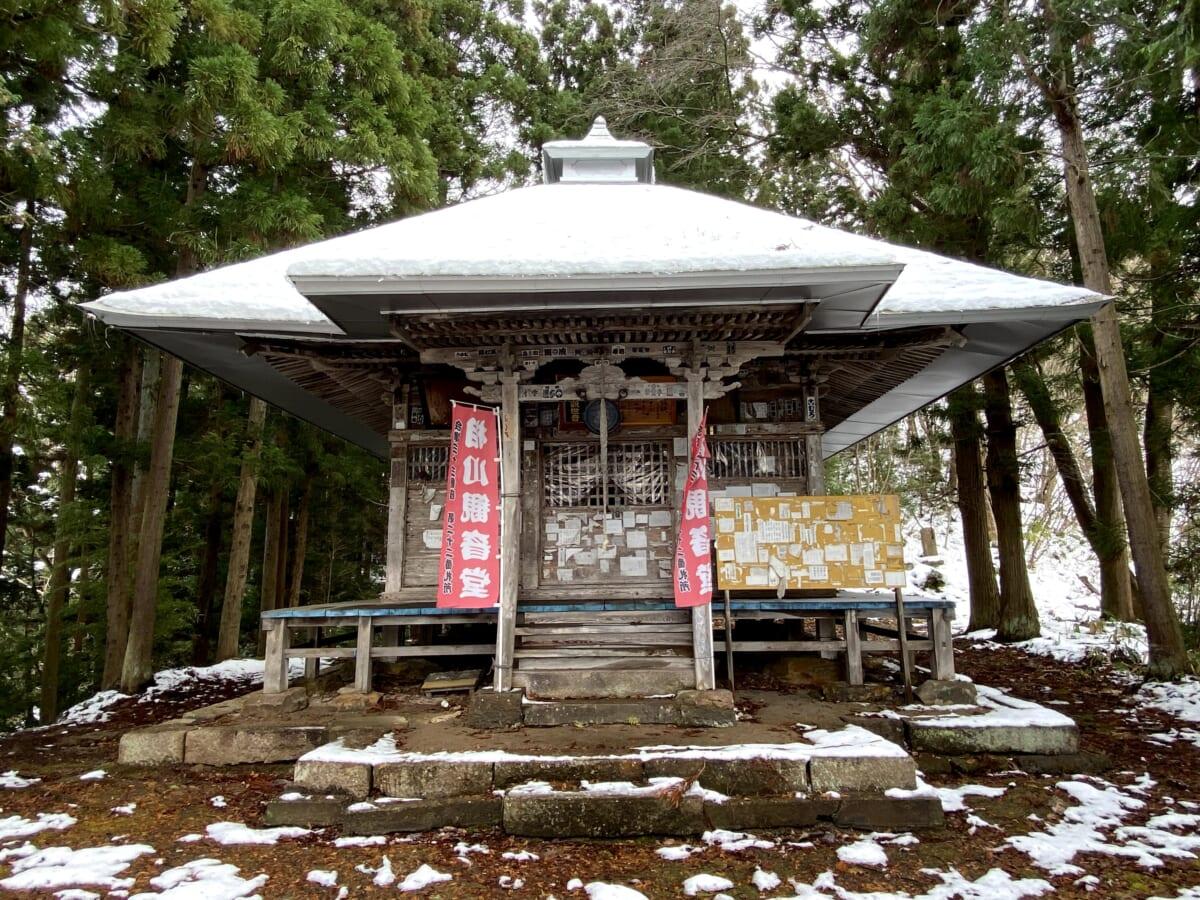 相川観音堂(あいかわかんのん) 会津三十三観音 第22番札所