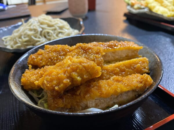 かんのや そば&ソースカツ丼のソースカツ丼