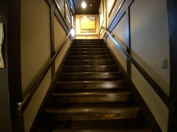 つるの湯 階段