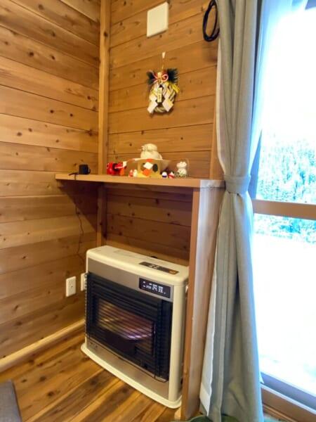 一棟貸ヴィレッヂ かわべり棟 暖房