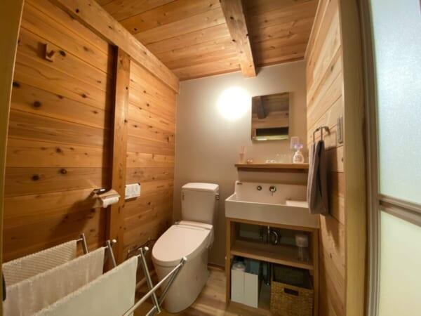 一棟貸ヴィレッヂ かわべり棟 トイレ&洗面