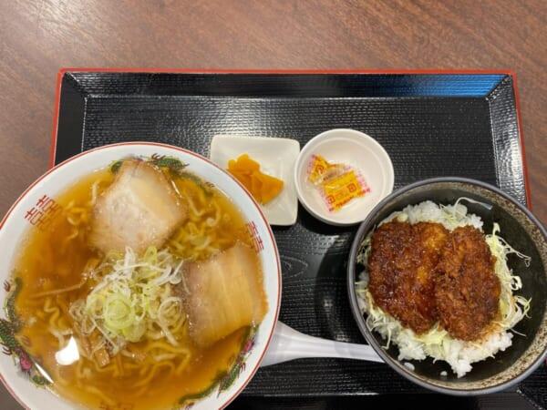 らぁ麺 まえ田 ソースカツセット