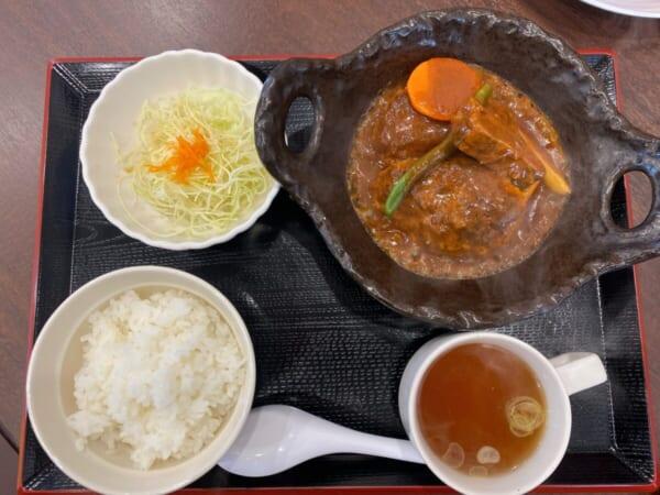 らぁ麺 まえ田 ハンバーグ定食