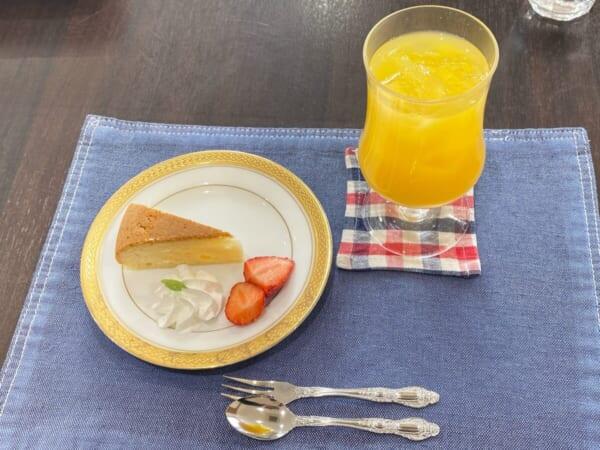 カフェアクティブ オレンジジュース&デザート
