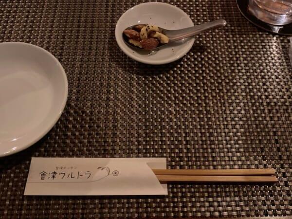 台湾キッチン 會津ウルトラ お通し