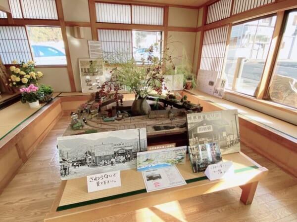 中ノ沢温泉 花見屋旅館 展示室