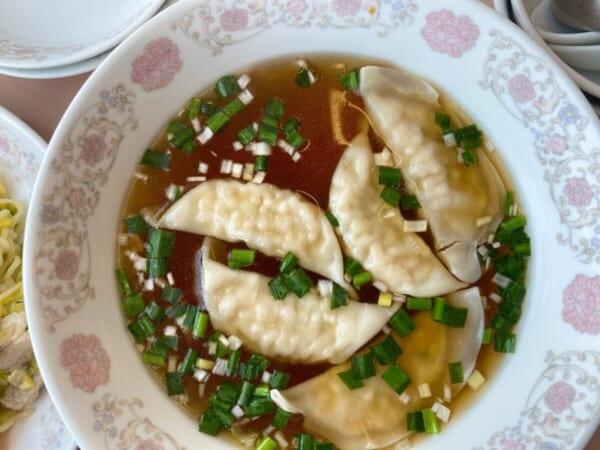 黄鶴楼 スープ餃子