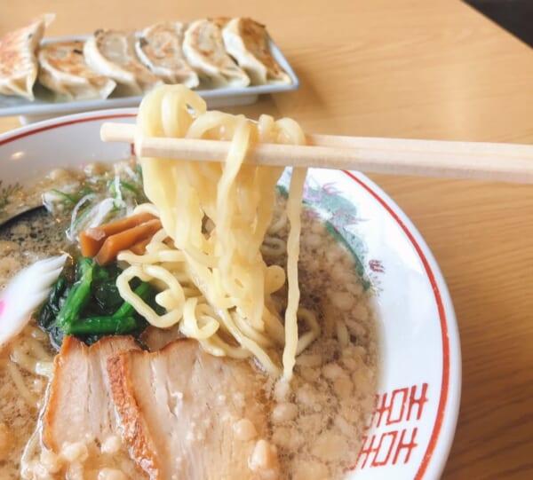 あおやま 尾道ラーメン 麺