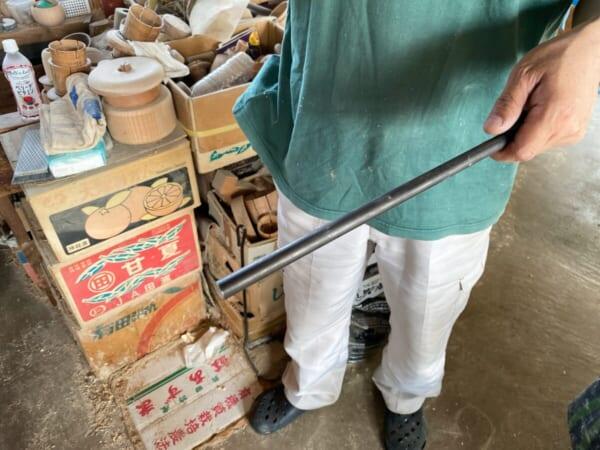 木地師職人さんの工房 道具類