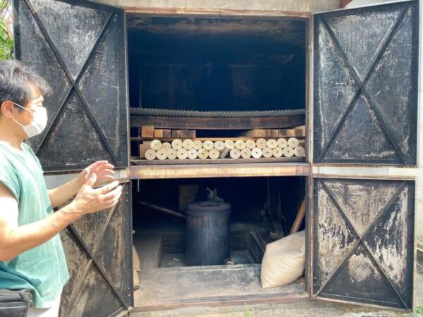 木地師職人さんの工房 乾燥室
