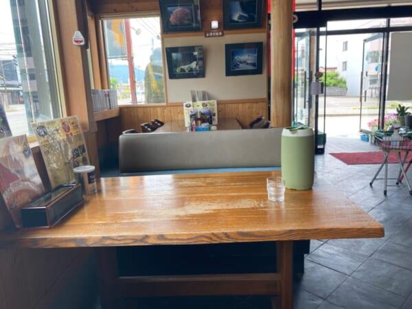 ほていや テーブル席