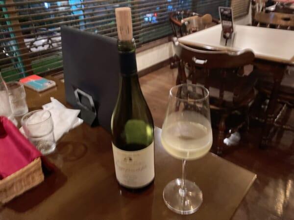 洋食屋 セピア グラスワイン