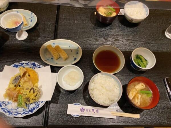 天味 会津のこだわり天ぷら定食